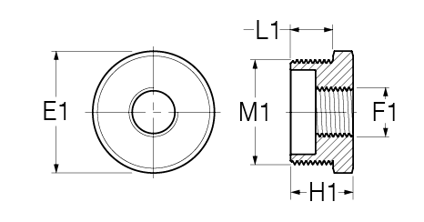 A R Cylindrical profile